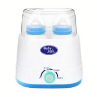 Jual Baby Safe 4 in 1 Mini Travel Bottle Warmer Sterilizer Twin Botol Susu Murah