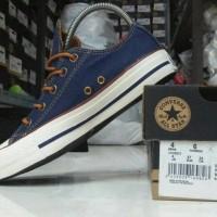 Sepatu Converse Premium Biru Dongker Maron Hitam Sneakers Pria Wanita