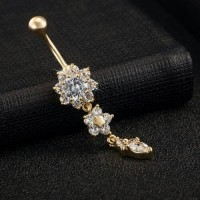 Anting Piercing Puser Udel Perut Belly Ring