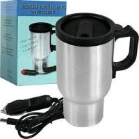 mug air panas untuk traveling.stainless