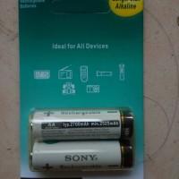 Batre Baterai Sony Premium Rechargeable 2700 mAh Ni-MH AA