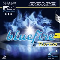 Donic Bluefire M1 Turbo - Rubber/Karet Bat Tenis Meja