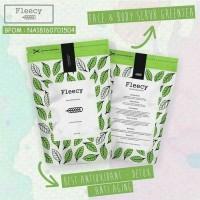 Jual Lulur Mandi Fleecy Face and Body Scrub Extracts Green Tea Murah