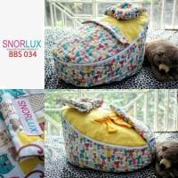 Jual Snorlux bean bag bbs 034/ kasur bayi/ sofa/bouncer/car seat/murah Murah