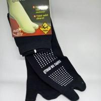 Kaos kaki jempol All Size warna hitam dengan anti slip sangat nyaman