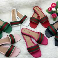 Sandal Kelom Lepes / Sandal Import Wanita Murah / Sandal Lepes Santai