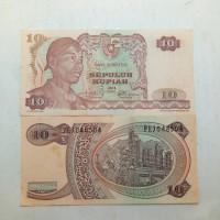 Jual Uang kuno atau uang lama 10 rupiah Sudirman tahun 1968 #unc Murah