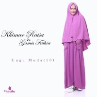 Gamis Fathia (Gamis Only)