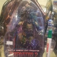 Neca predator 2 battle armor lost predator tinggi sekitar 7 inch full