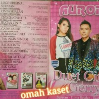 Kaset VCD original OM AURORA album DUET CINTA GERRY