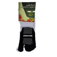 Kaos kaki jempol All Size warna putih anti slip nyaman dan murah