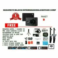 xiaomi yi black internasional edition PAKET B