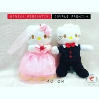 Jual Boneka pengantin hello kitty boneka wedding couple Murah