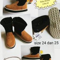 Jual Little M Sepatu Boots Anak Kids Baby Shoes Kets Keds Sneakers Boot Murah