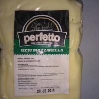 Jual perfetto keju mozzarella 1kg Murah