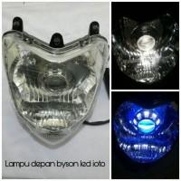 lampu depan led byson ioto