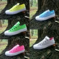 Jual Converse CT size 36-40 sepatu wanita sneakers casual pink blue abu Murah