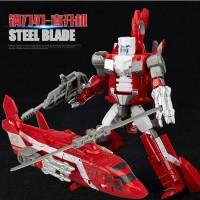 Jual Transformer War Combiner Steel Blades-Oversize-Diecast merk Weijiang Murah