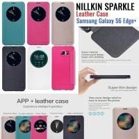 Jual OP1126 Nillkin Sparkle Leather Case Samsung Galaxy S6 Edge Plu KODE Bi Murah