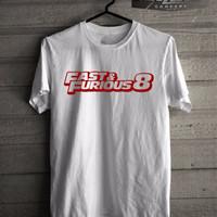 Jual Kaos/T-shirt Fast And Furious 8 Murah Murah