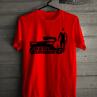 Jual Kaos/T-shirt Fast And Furious 8 Dominic Toretto Siluet Murah