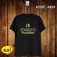 Jomblo Fisabilillah | MLXL | A-834 | Kaos Islami/Islam/ Berkualitas