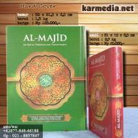 Jual AlQuran Al-Majid Kecil (A5) , Al-Quran Tajwid Terjemah Almajid Murah
