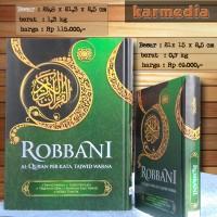 Jual Al-Qur'an Robbani ( Al-Qur'an Terjemah Perkata Tajwid Warna ) KECIL Murah
