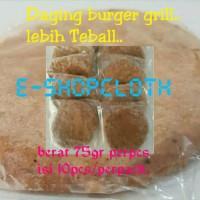 Jual Daging burger grill lebih teball.. bgt Murah