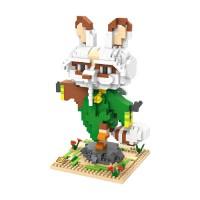 Jual L6023 Loz Lego Nano Block Kungfu Panda Shifu KODE PL6023 Murah
