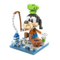Jual L6054 Loz Lego Nano Block Goofy Fishing KODE PL6054 Murah