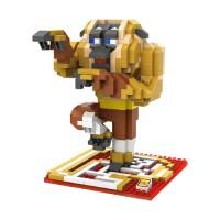 Jual L6026 Loz Lego Nano Block Kungfu Panda Monkey KODE PL6026 Murah