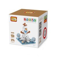Jual L6077 Loz Lego Nano Block Frozen Olaf KODE PL6077 Murah