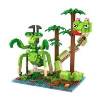 Jual L6028 Loz Lego Nano Block Kungfu Panda Viper a KODE PL6028 Murah