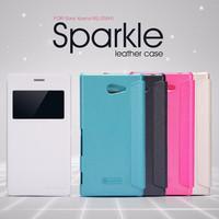 Jual BARU Flip Case Nillkin Xperia M2 Sparkle Series Murah