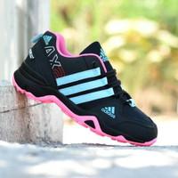 Adidas AX2 Goretex Hitam Tosca Color/ Sepatu Kets Wanita/ New Arrival