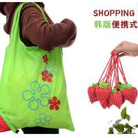 Jual Tas Belanja Serbaguna Lipat Strawberry  Baggu Bag Bisa Jadi Besar Murah