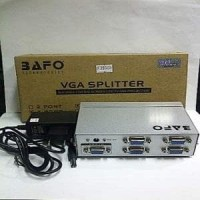Splitter VGA 4 Port plus Adaptor BAFO