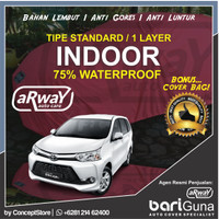 Jual ARWAY COVER MOBIL TOYOTA AVANZA (STANDARD 1-LAYER-POLOS) Murah
