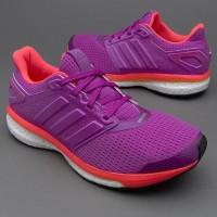 Sepatu Lari Adidas Womens Supernova Glide 8 Shock Purple