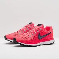 Sepatu Lari Nike Womens Air Zoom Pegasus 34 Hot Punch