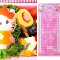 Jual Cetakan Bento Hello Kitty 3D Sanrio Nasi Sushi Mold DIY Nori Puncher Murah