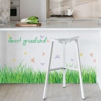 Jual Stiker Dinding / Wall Sticker Sweet Grassland SK7090 Cantik Murah Murah