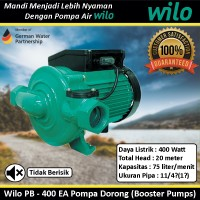Pompa Air Wilo PB 400 EA Pompa Dorong Booster Pumps