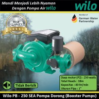 Pompa Air Wilo PB - 250 SEA Pompa Dorong Booster Pumps