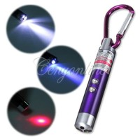 Jual Senter UV Led Laser keychain Gantungan Kunci Pointer Money Detector Murah
