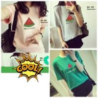 Jual WATER MELON - Bahan spandex soft fit to L  Murah