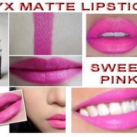 NYX MATTE LIPSTICK - SWEET PINK