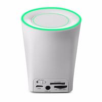 Jual Vivan VB350 Bluetooth V3.0 Mini Speaker with Light - White Murah