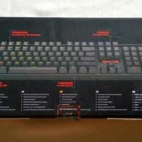 Jual Keyboard gaming mechanical Redragon VARA k551 RGB Terlaris Murah